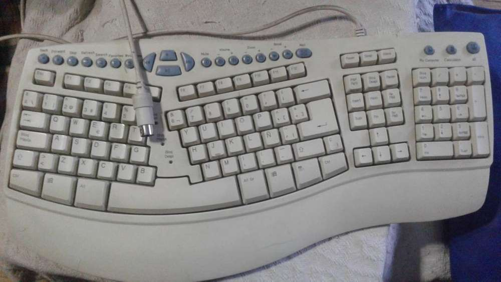teclado multimedia interNet PRO ANTIGUO