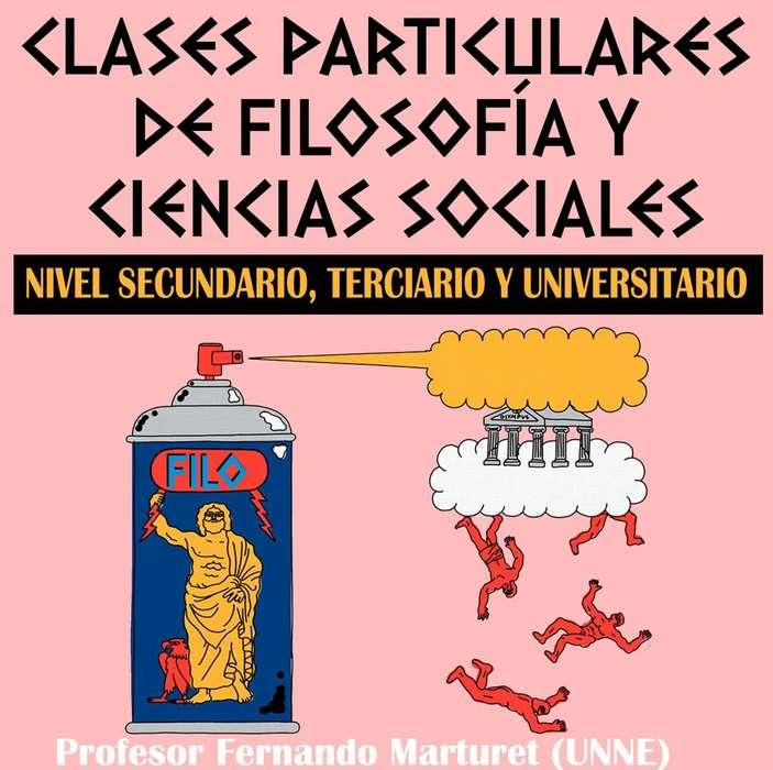 Clases particulares de Filosofía y Ciencias Sociales