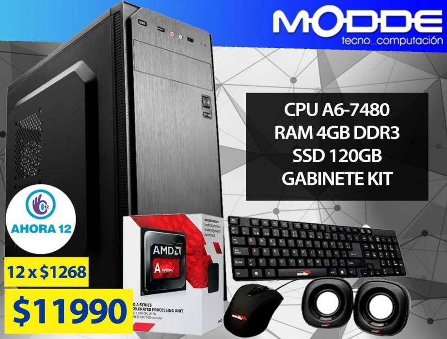COMPUTADORA DE ESCRITORIO A6-7480 // MODDE TECNO