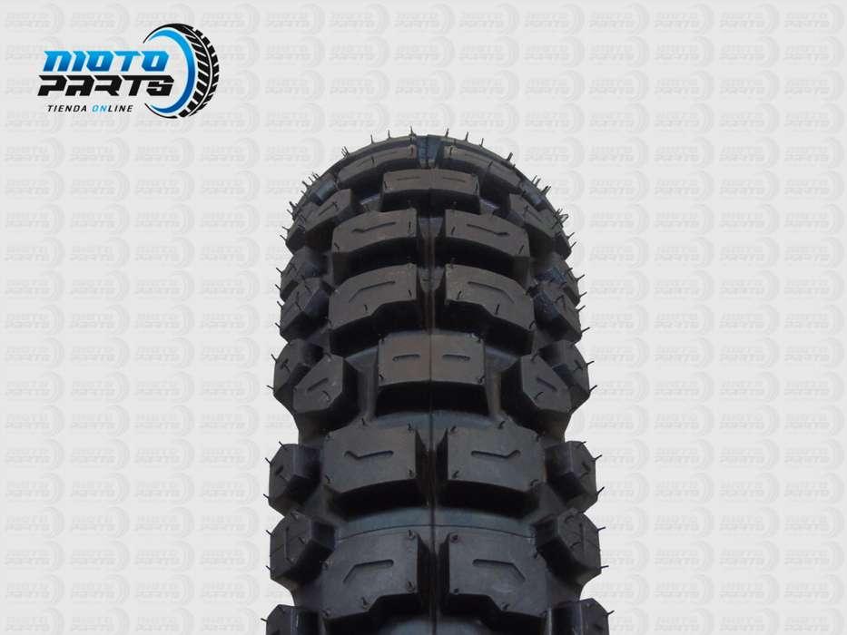 LLANTA Motocicleta RINALDI R18 110/80/18 Doble Propósito RT36
