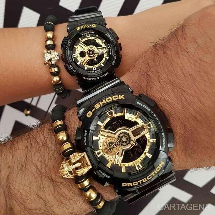 Relojes Casio G-Shock con dorado a la venta para pareja