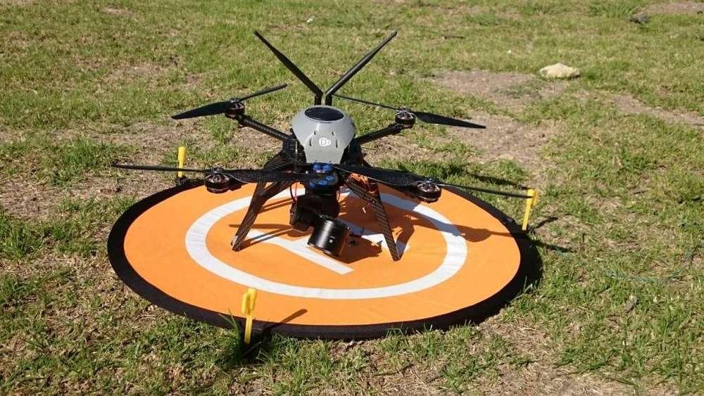 VENDO DRONE MULTIROTOR RTK TOPOGRAFICO