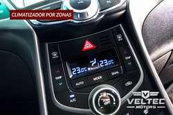 HYUNDAI ELANTRA /AVANTE AZUL 2016.  GLP ORIGINAL DE FABRICA. VELTEC MOTORS.