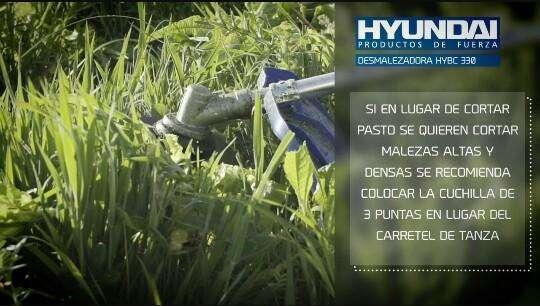 Guadañas o Desmalezadoras Hyundai Varios Modelos