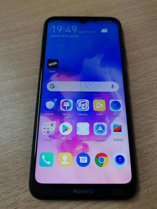 VENDO Huawei Y6 2019 LIBRE IMPECABLE