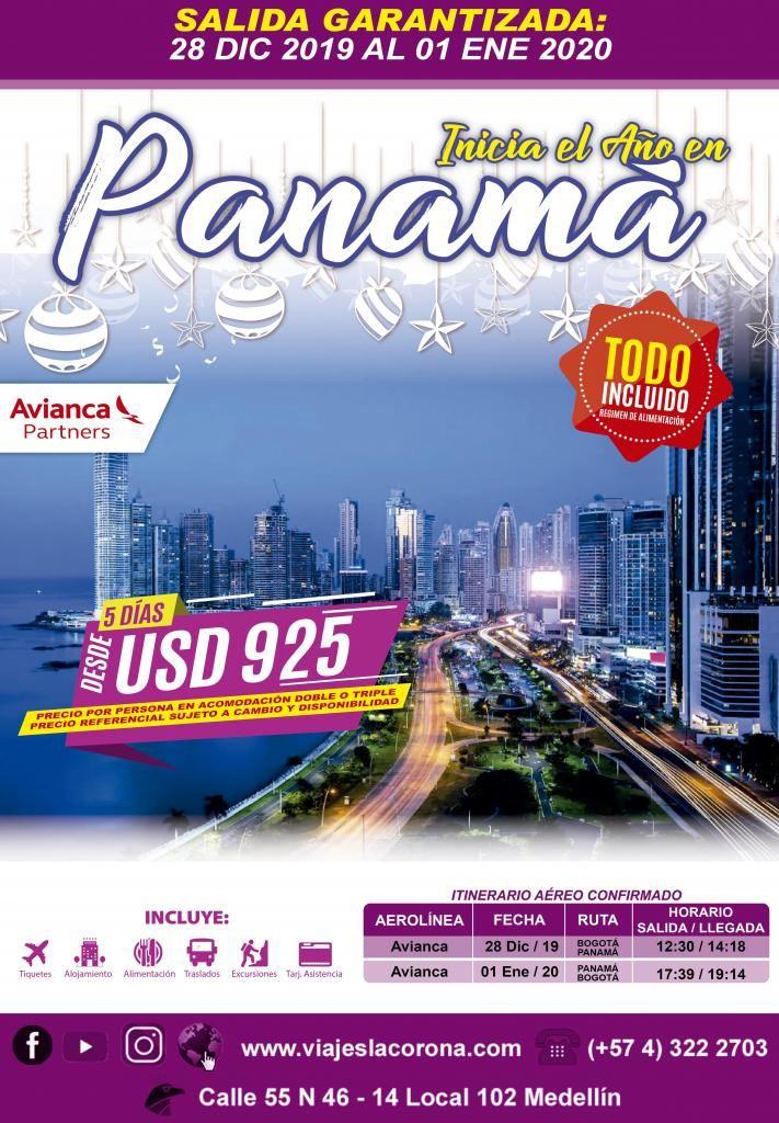 Viaje como un Rey a Panamá en Diciembre con Viajes la Corona