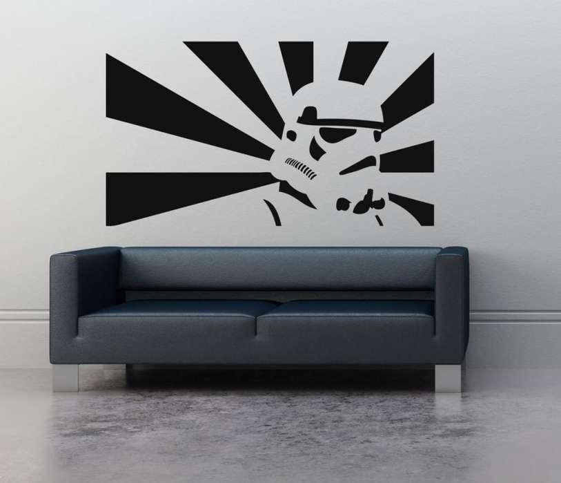 Vinilo Decorativo Star Wars Trooper