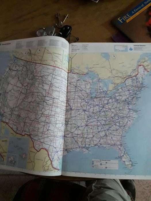 Atlas Rutero Eeuu Y Canadá