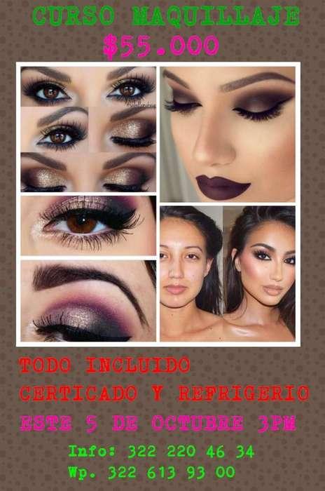 Curso Maquillaje Todo Incluido