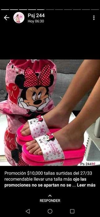 Promoción Chanclas de Minnie
