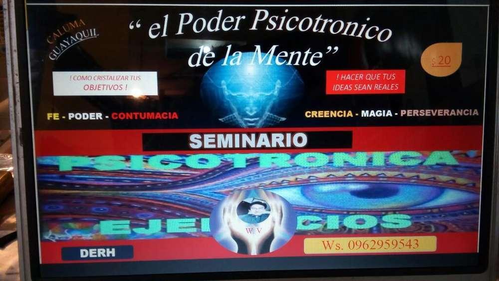 <strong>seminario</strong> El Poder Psicotronico .r.stone