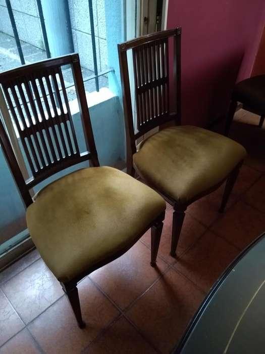 Hermoso Juego de <strong>silla</strong>s de Roble
