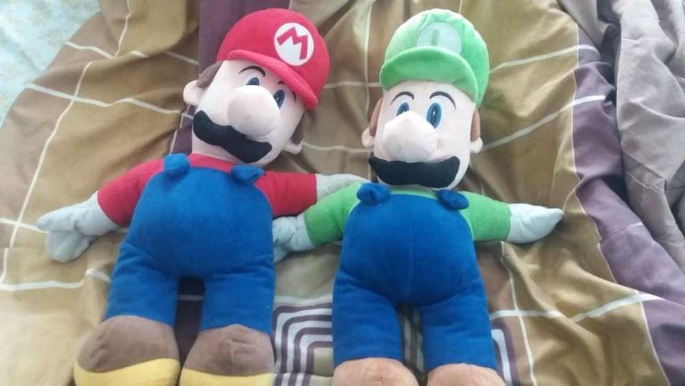 Peluches de Mario Y Luigi