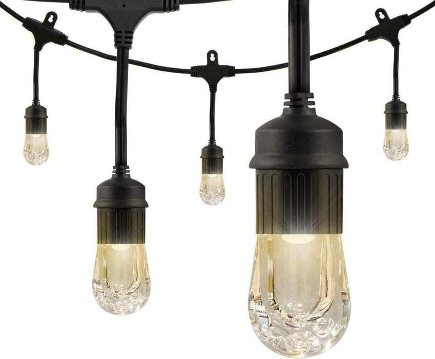 Luces LED de alta resistencia juego de 9 bombillos
