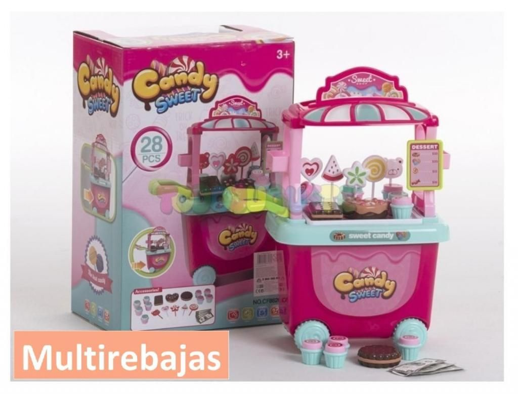 Excelente Tiendita De  Dulces Candy Sweet Par Niñas