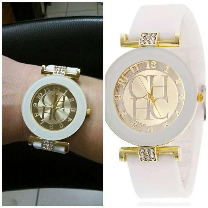 Reloj Ch Blanco