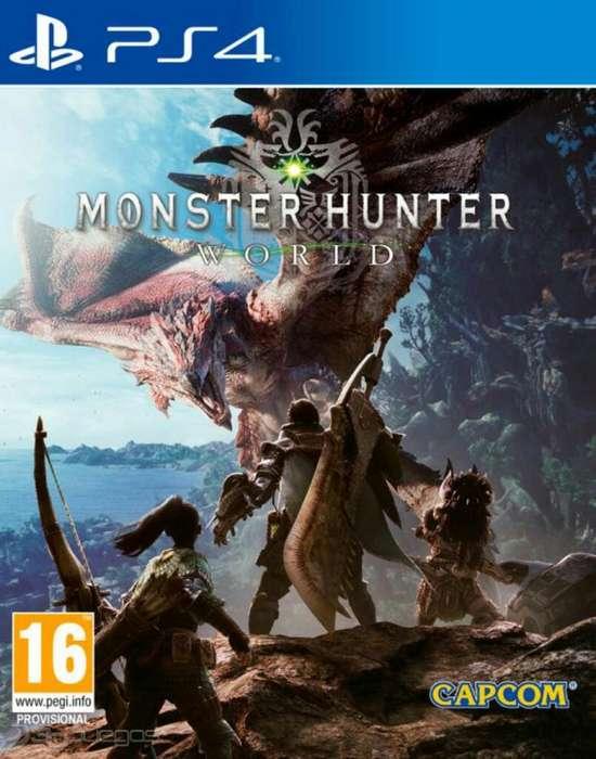 Monster Hunter Ps4 Sellado