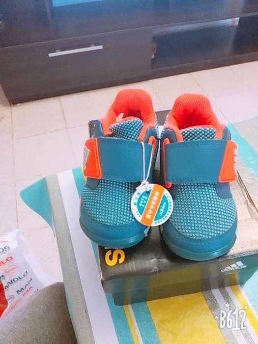 Zapatillas Adidas Nuevas Numero 22 1600