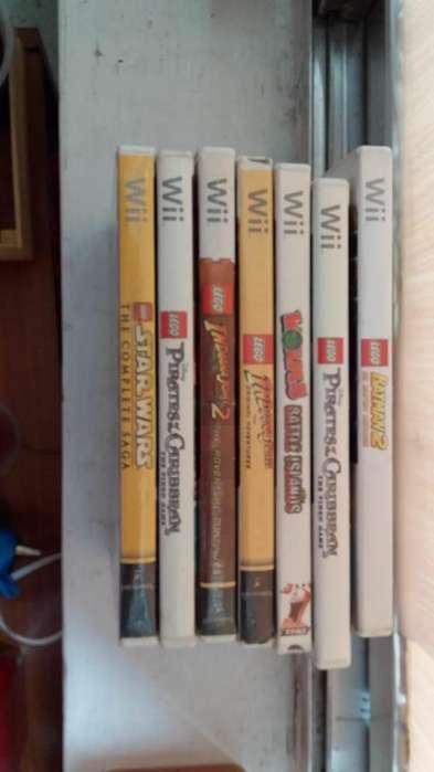 7 Juegos Originales Wii LEGO Diferentes Tìtulos
