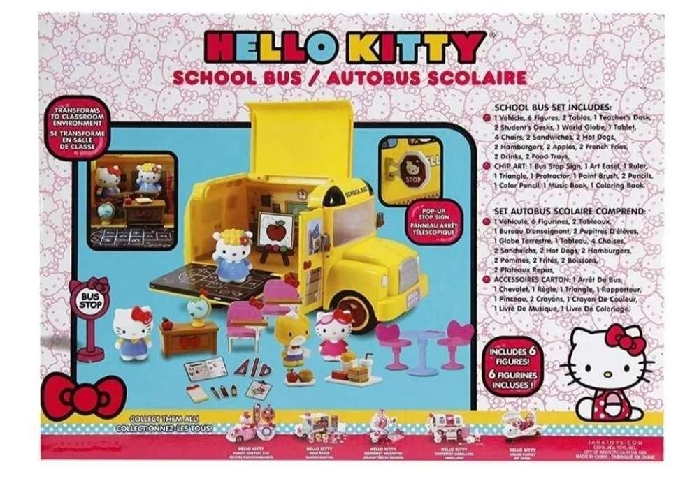 Bus Escolar Hello Kitty