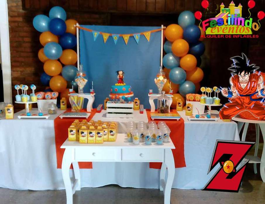 decoracion tematica Dragón ball Z whatapp 3764652395