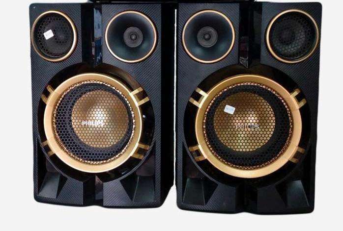 Vendo par de parlantes fx50 55