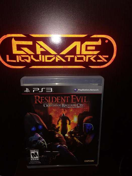 RESIDENT EVIL OPERATION RACOON CITY PS3