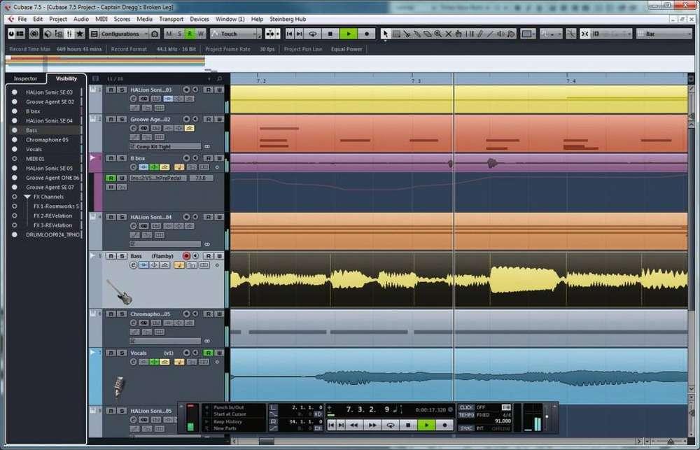Se crea y edita pistas de sonido