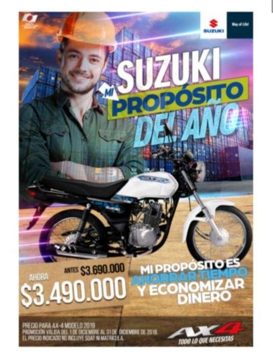 Suzuki Ax4 Mod 2019