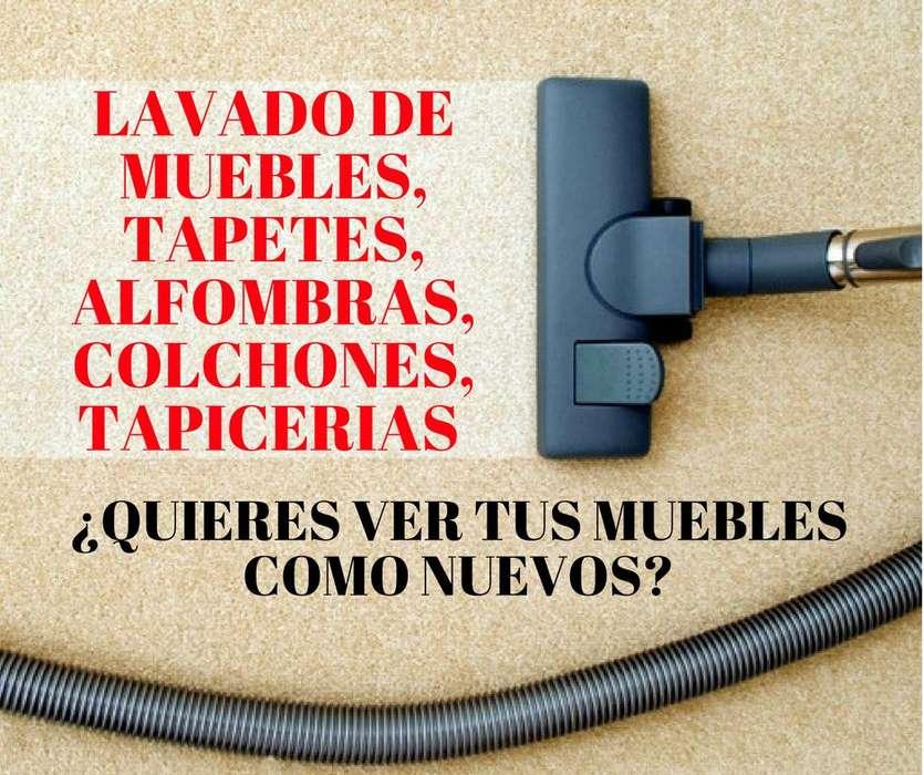 LAVADO DE MUEBLES COLCHONES TAPICERIAS EN BOGOTA