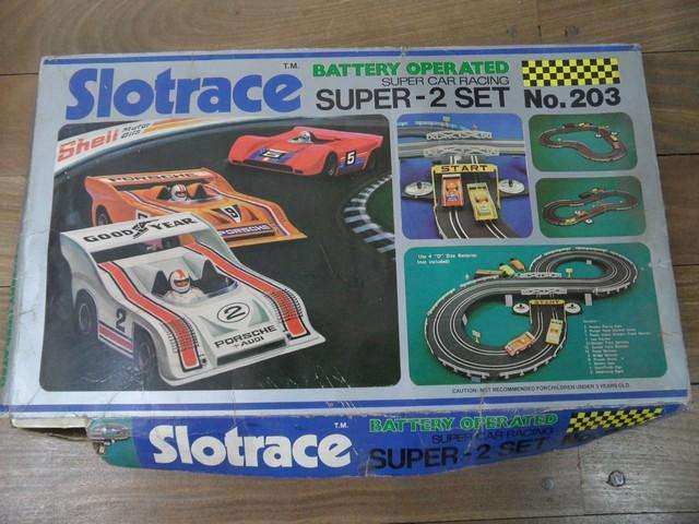 Pista de autos Slotrace Super Car Racing No. 203 1979