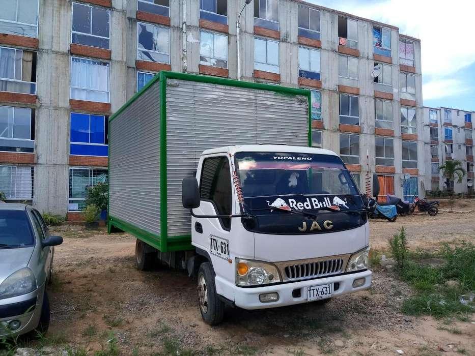 Vendo y/o Cambio Furgón JAC 1045, 3.3 Toneladas Modelo 2013