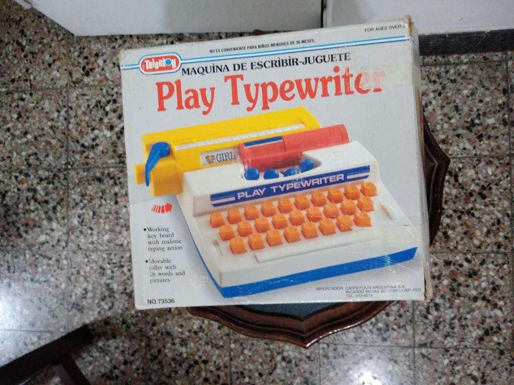 Play Typewriter Máquina de escribir de juguete