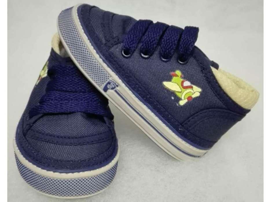 Zapatos para Bebés Caminadores Ref. 2008 Azul
