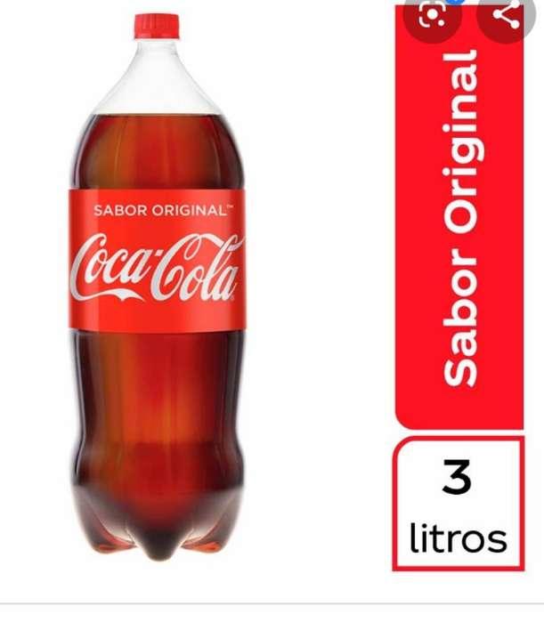Coca Cola 3 Lts por 6 Unidades