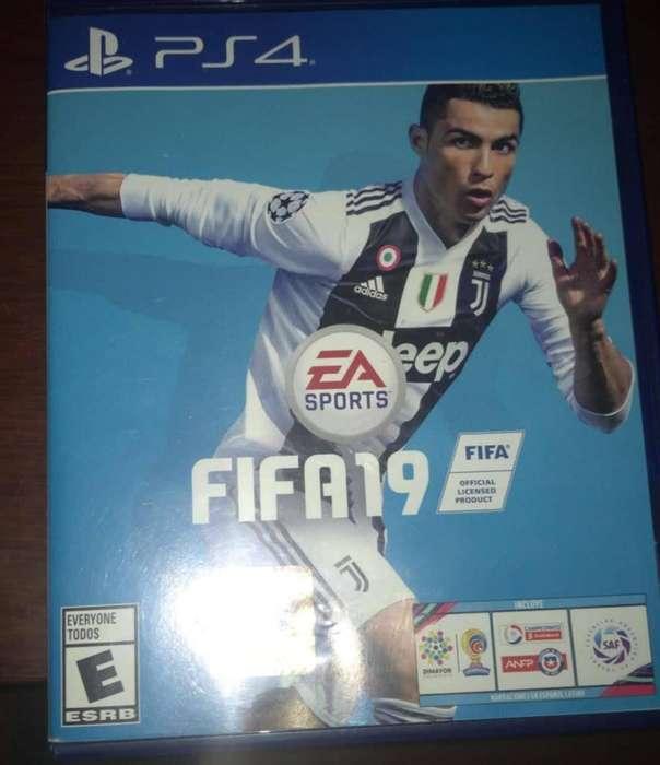 FIFA 19 Para PS4 usado en perfecto estado