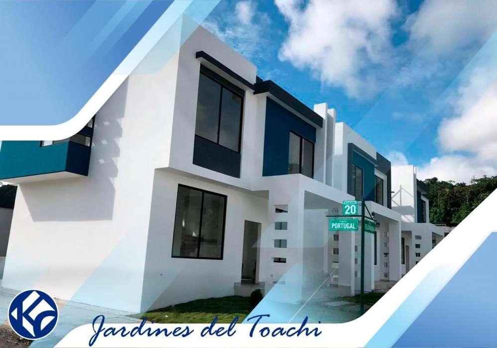 venta-casa-urbanizacion privada- jardines del toachi