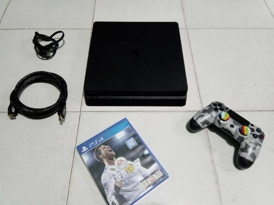 Playstation 4 Slim 500 Gb Full Estado