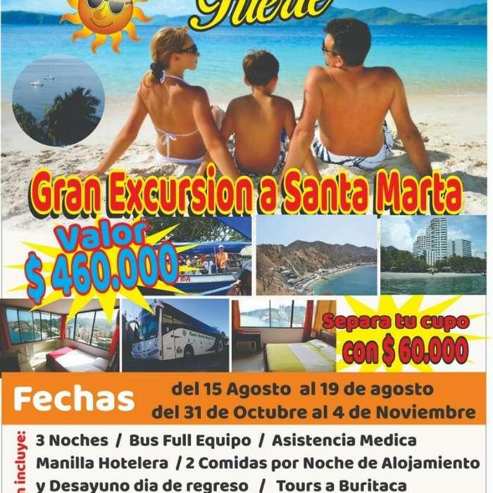 Gran Excursión a Santa Marta