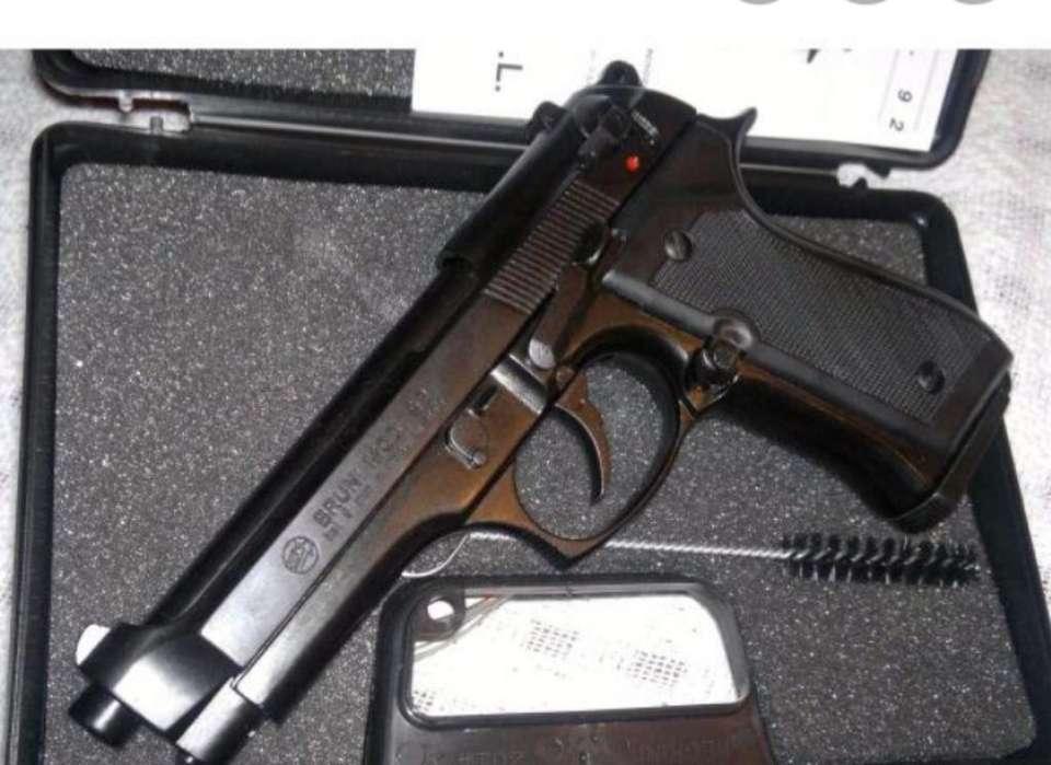 Pistola Defogueo