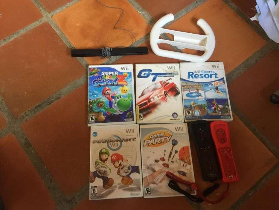 Juegos de Wii U mini controles con forros detector de controles ma
