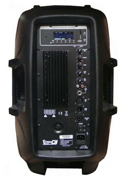 Bafle Amplificado de 12 Pulgadas Prodj