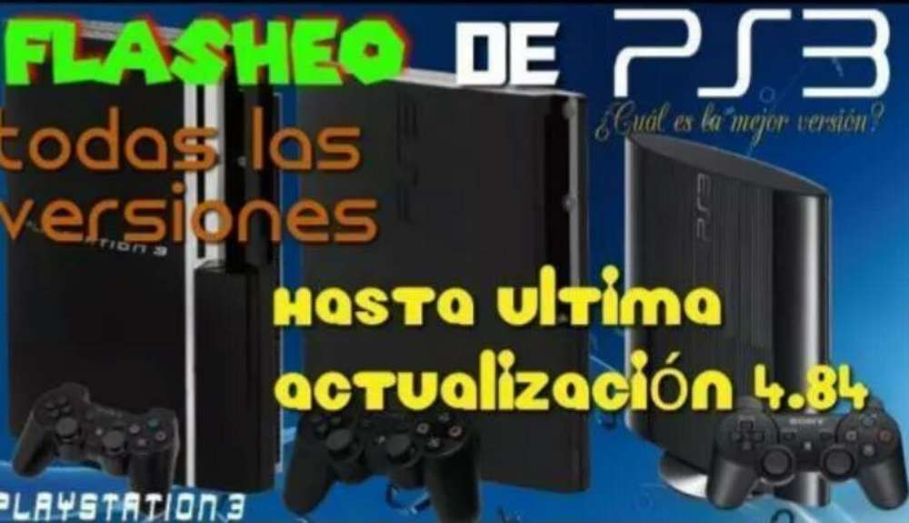 Flasheo Playstation 3 Ps Vita 4.84o3.70