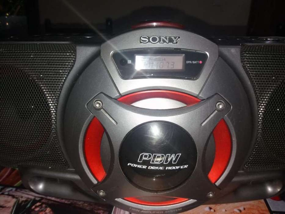 Radio Grabadora Sony