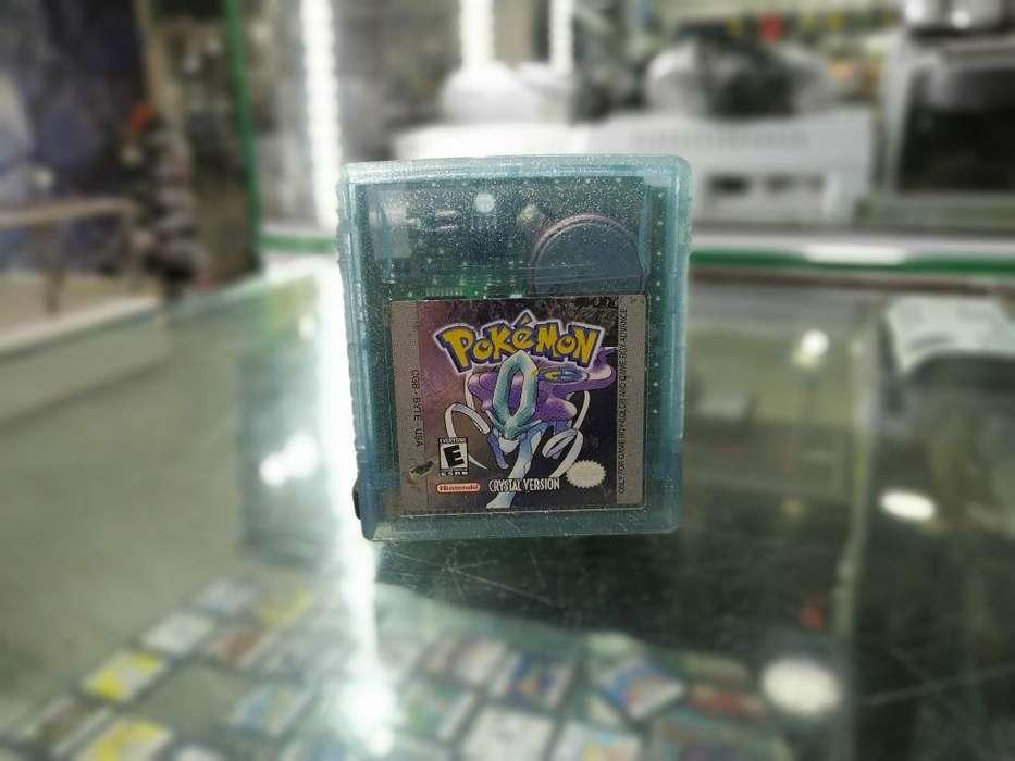 Pokémon Cristal Original Idioma Inglés