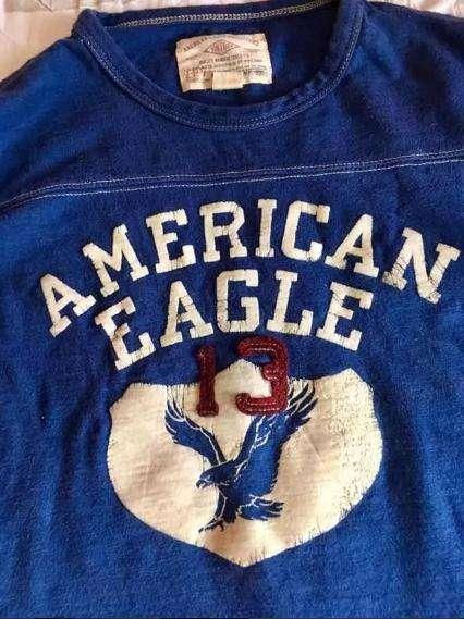 Buzo American Eagle Buen Estado Talla S