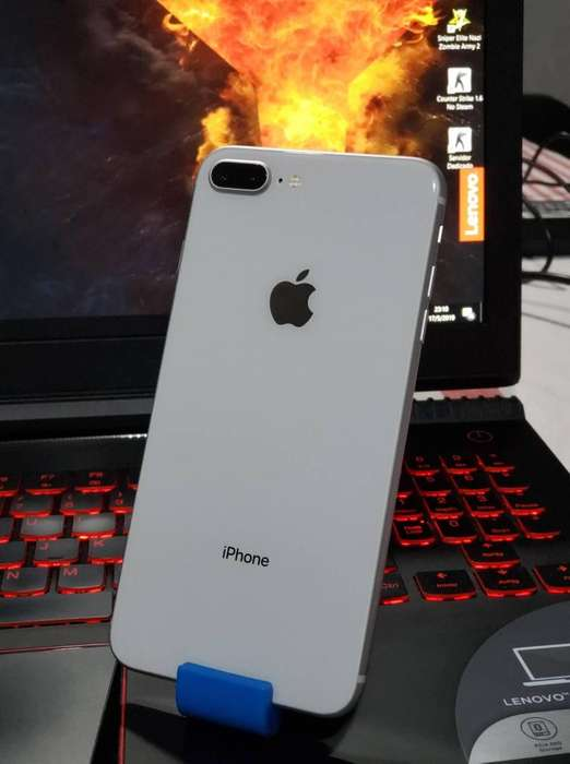 Iphone 8 plus de 64gb ni un detalle. NO PERMUTO