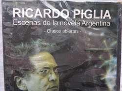 Dvd Ricardo Piglia -   Esenas De La Novela Arg. -  orig.nac.s/uso