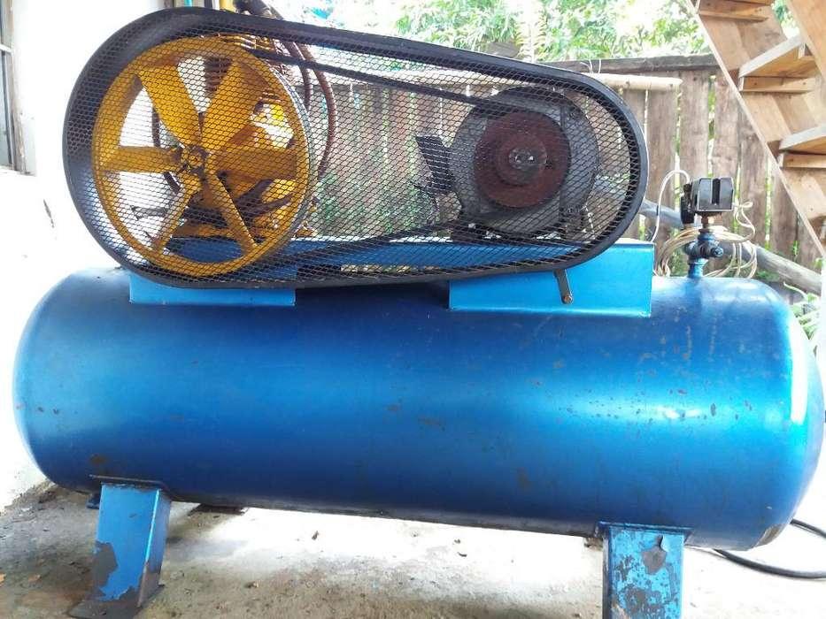 Compresor Aire Industrial Motor 8 Hp