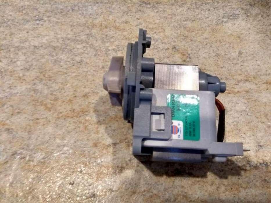 Motor Bomba de lavadora LG Modulo